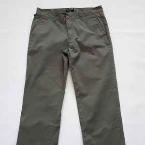 Ralph Lauren Polo Jeans Co Cuffed Olive Capri Pant